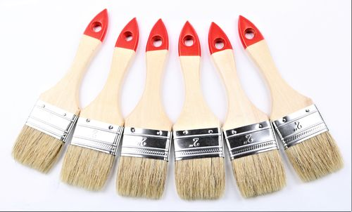 60 Pinsel Flachpinsel Maler hellen Chinaborsten 50 mm